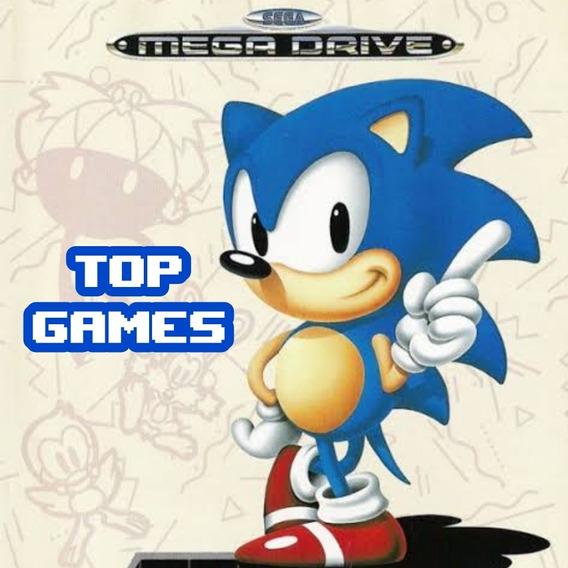 Emulador Mega Drive/genesis + Jogos
