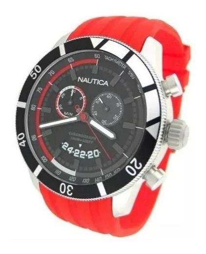 Relógio De Pulso Nautica N17584g Original