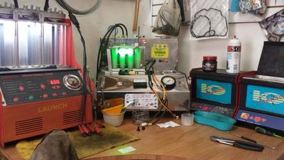 Limpieza De Inyectores Con Ultrasonido, Prueba Y Calibración