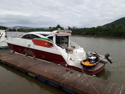 Lancha Cimitarra 500 Ht Ñ Phantom Intermarine Ferretti