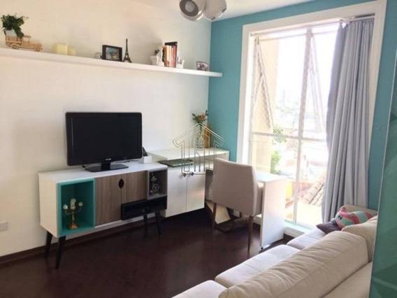 Apartamento Em Condomínio Padrão Para Venda No Bairro Vila Valparaíso, 1 Dorm, 1 Vagas, 53,00 M - 11815usemascara
