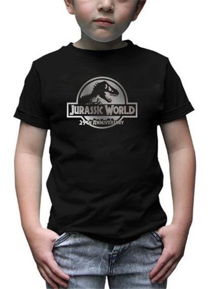 Playera Jurasic World 25 Aniversario Infantil