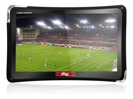 Gps Aquarius Quatro Rodas Mtc 4374 Tela 4.3 Touch Screen