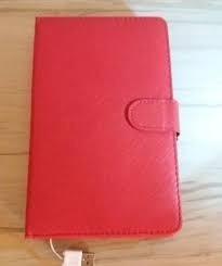 Capa Teclado Para Tablet Usb 2.0 Zq-07 Vermelha Com Caneta