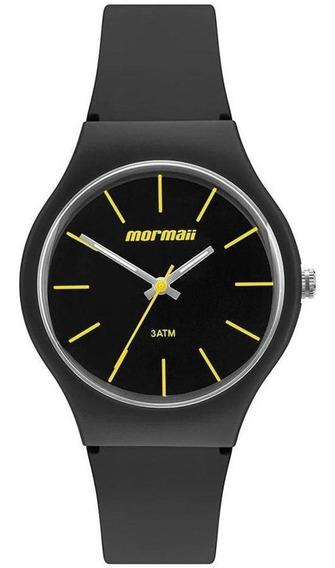 Relógio Unissex Mormaii Wave Analógico Mo2035ke/8p - Preto
