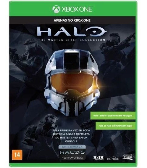 Jogo Xbox One Halo Master Chief Collection Pt-br Inglês