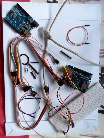 Kit Protoboard + Arduino Uno E Outros