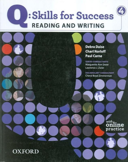 Q Skills For Success 4 Reading & Writing Student Book With