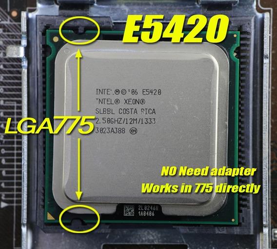Processador Intel Xeon E5420 775 Modif.¨gammer Game