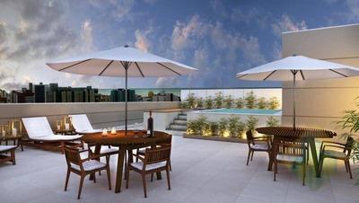Apartamento Com 3 Suítes À Venda, 126m² Por R$ 665.000 Em Cabo Branco, João Pessoa, Ap0927 - Ap0927