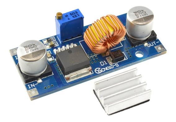Modulo Fuente Dc-dc Step Down 1.25 A 36v / 5 Amper Xl4015 Con Ajuste De Tensión