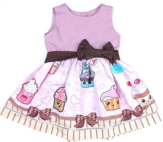 Vestido Cupcake Desenho