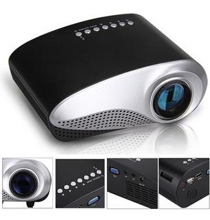 Mini Proyector Portatil Led Hd Hdmi Usb Control Sonido Video