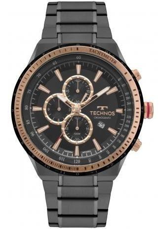 Relógio Technos Masculino Skymaster Preto Os10fc4p