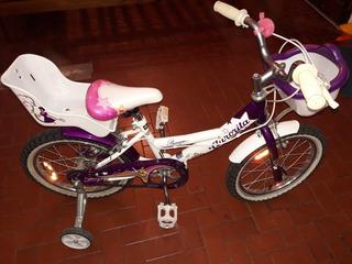 Bicicleta Rodado 16 Aurorita Princesa