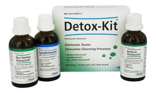 Detox Heel (kit De Desintoxicacion Homeopatico)