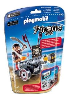 Playmobil - Cañón Interactivo Negro Con Corsario