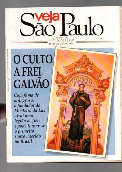 Revistas Veja São Paulo O Culto A Frei Galvão Ago 1997 1802