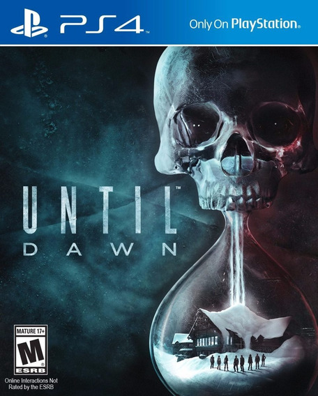 Until Dawn - Ps4 - Pronta Entrega!