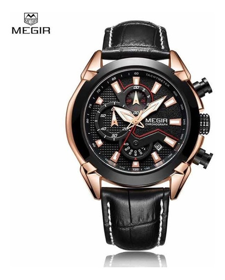 Reloj Lujo Cronógrafo Luxury Megir Edifice Invicta Diesel