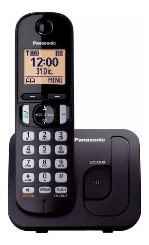 Imagen 1 de 2 de Teléfono inalámbrico Panasonic KX-TGC210 negro