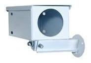 Caixa Proteção Para Câmera Bulet Branca E Preta