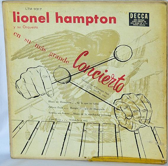 Lp Vinilo Lionel Hampton En Su Mas Grande Concierto