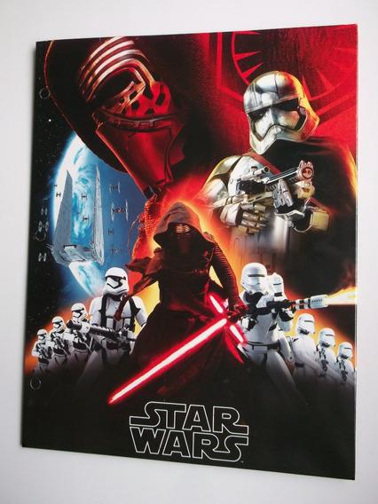 Kylo Ren Star Wars Folder Especial Para Carpeta 3 Anillos