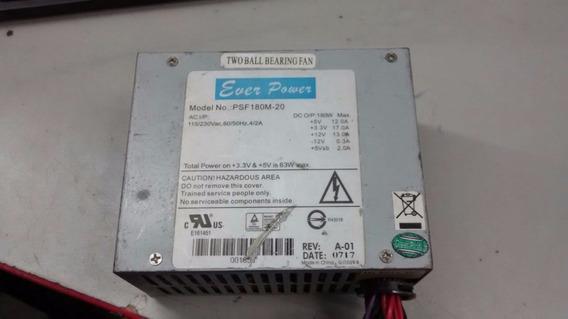 Mini Fonte 20 Pinos Atx Ever Power Model:psf180m-20 180w