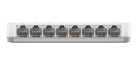 Hub Switch 8 Portas Branco D-link Des-1008c