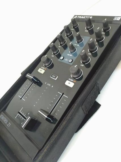 Traktor Kontrol Z1 Native Instruments + Case Original + Usb