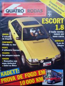 Revista 4 Rodas Nº 348 Julho 1989