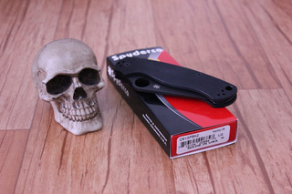 Spyderco Paramilitary 2 C81gpbk2 Made In Usa + Brindes!