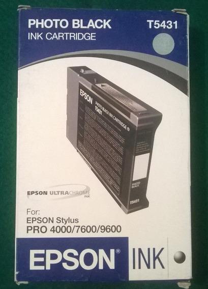 Cartuchos Epson Stylu Pro 4000 7600 9600 Pro Xl Vencidos