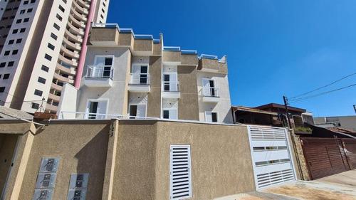 Apartamento À Venda, 60 M² Por R$ 300.000,00 - Vila Assunção - Santo André/sp - Ap2457