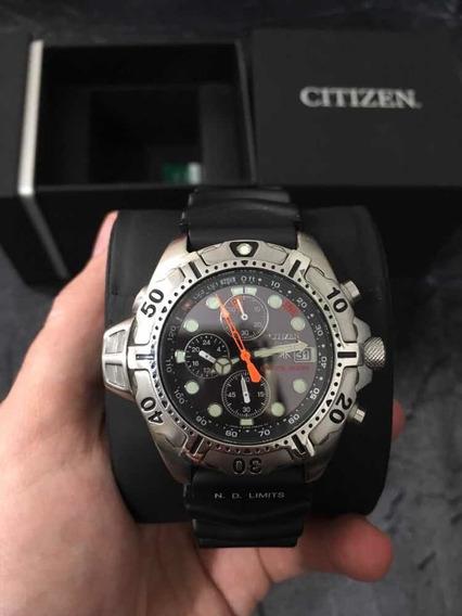 Relógio Citizen Aqualand Bj2000 Na Caixa!