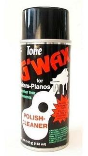 Cera Limpiadora G-wax P/ Guitarra & Piano G224b
