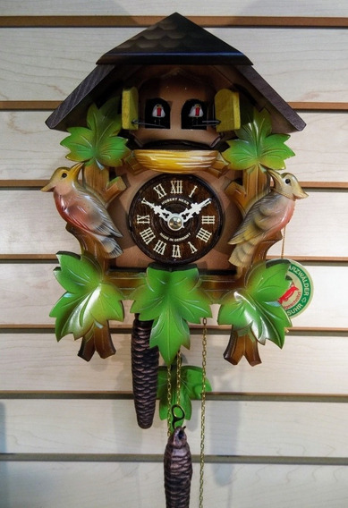 Reloj Cucú Alemán Hubert Herr - Doble Puerta