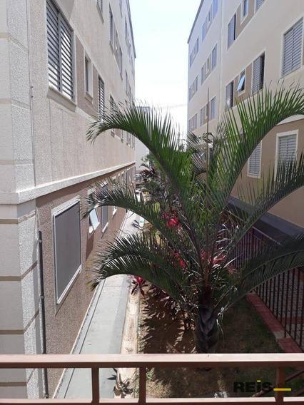Apartamento Com 2 Dormitórios Para Alugar, 48 M² Por R$ 700/mês - Éden - Sorocaba/sp - Ap0025
