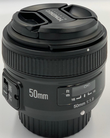 Lente Yongnuo Yn50mm F1.8n Para Nikon B3-1001 Coisas