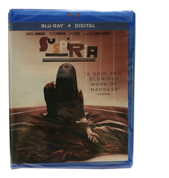 Suspiria Blu-ray + Digital Copy Dakota Johnson