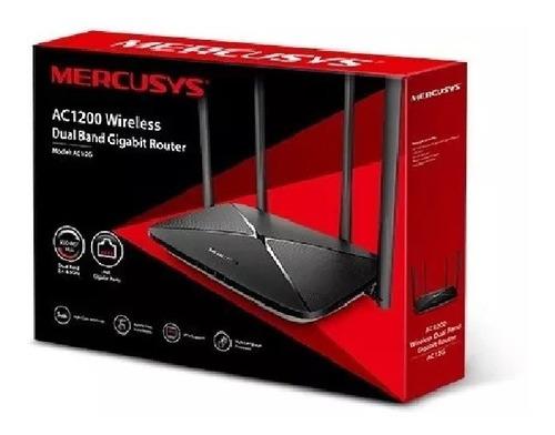 Router Mercusys Ac12 4 Antenas 5dbi Dual Band