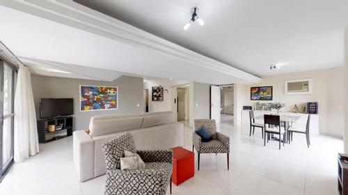 Imagem 1 de 30 de Amplo Apartamento Com 216m² E 4 Dormitórios No Bairro Vila Mascote São Paulo- Sp - Ap3041v