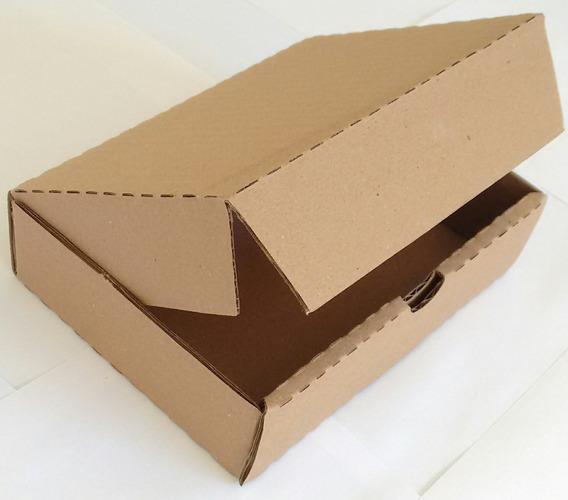 50 Caixas Papelão Auto-montável 16x12x4 Cm * 1ª Linha