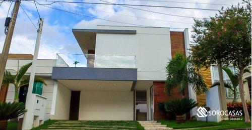 Casa Com 3 Dormitórios À Venda, 250 M² Por R$ 1.450.000,00 - Condomínio Ibiti Royal Park - Sorocaba/sp - Ca1902