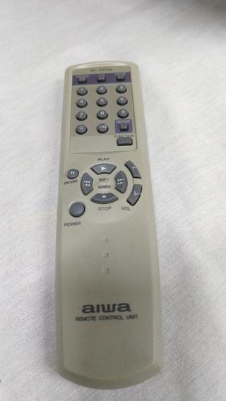 Controle Original Micro System Aiwa - Mod Rc-zas04