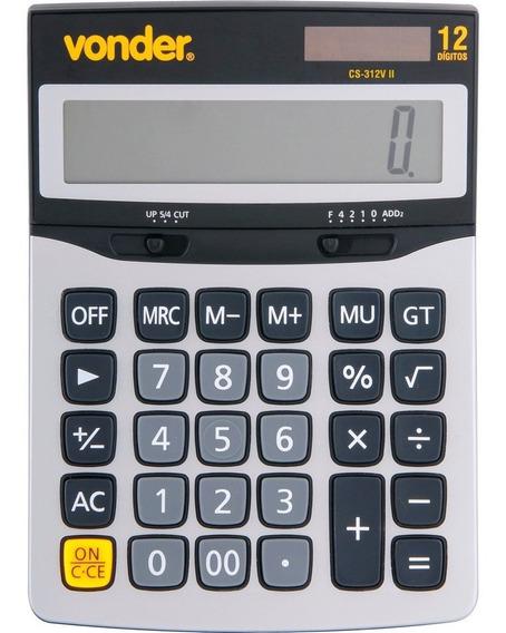 Calculadora Mesa 12 Digitos Cs-312v Vonder Profissional