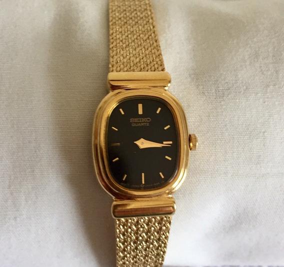 Relógio Seiko Banhado Ouro Déc.70 Máq. Precisa Reparos