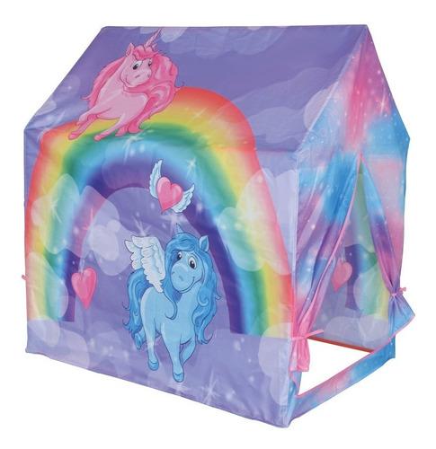 8192 Carpa Nenas Casa De Niñas Unicornio 95x72x102cm