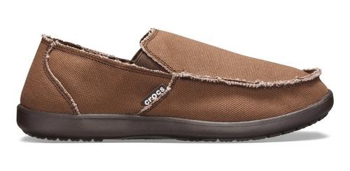 Imagen 1 de 2 de Mocasín Crocs Santa Cruz Men Zapato Náutico Hombre Original